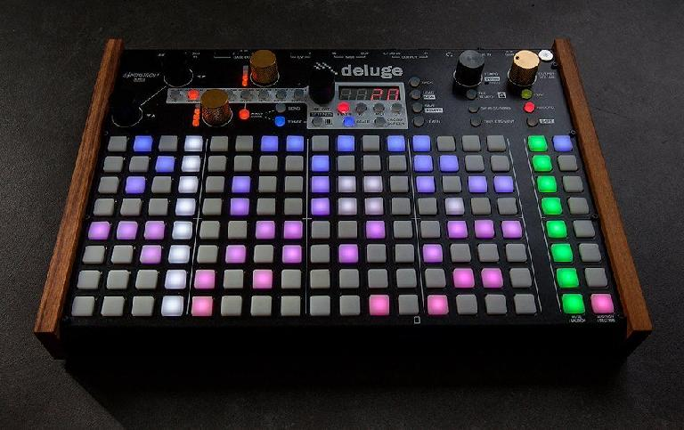 Deluge synth & sequencer from Synthstrom.