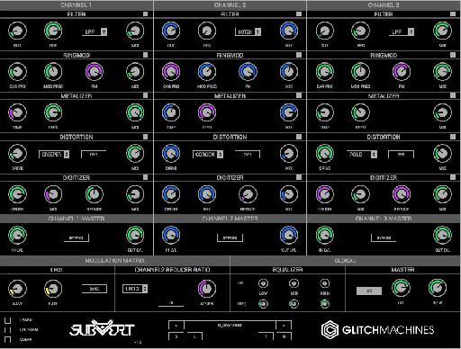 Glitchmachines Subvert interface.