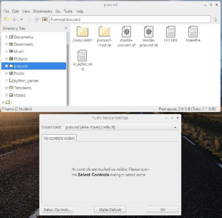 pisound installed on Raspberry Pi, and being recognized as an audio interface