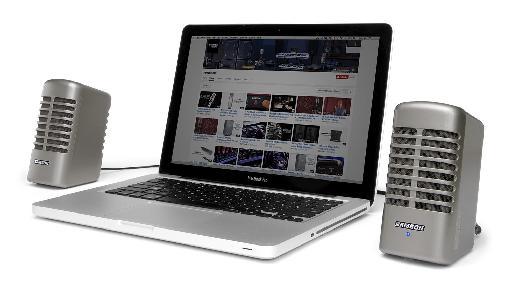 Fig 1 The Samson Meteor M2 Multimedia Speaker System