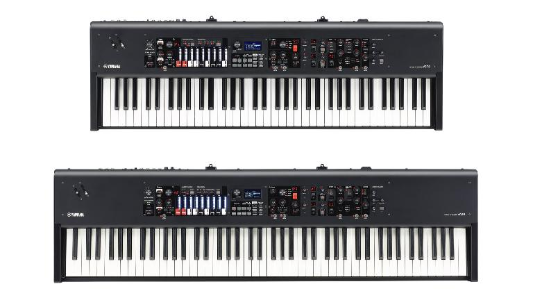Yamaha YC77 and YC88 keyboards.