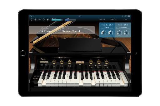 Korg Module Grand Piano.