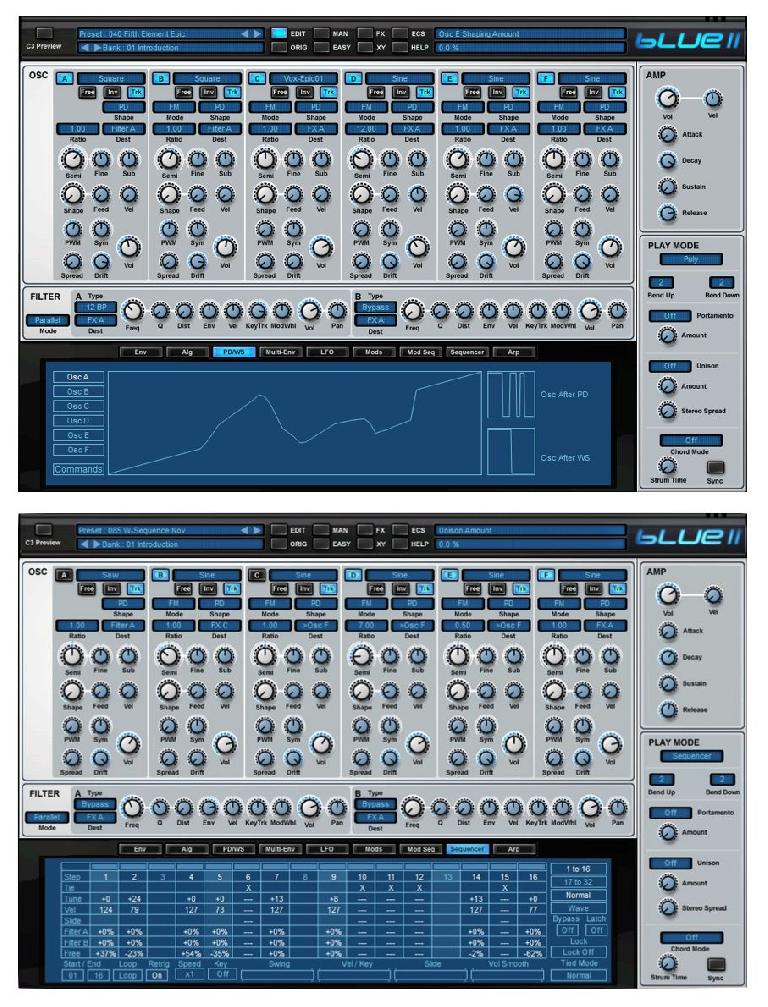 Fig 4 Rob Papen Blue II