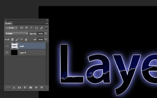 Layer is converted to pixels