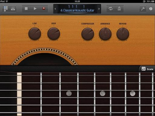 Smart Controls and Fretboard