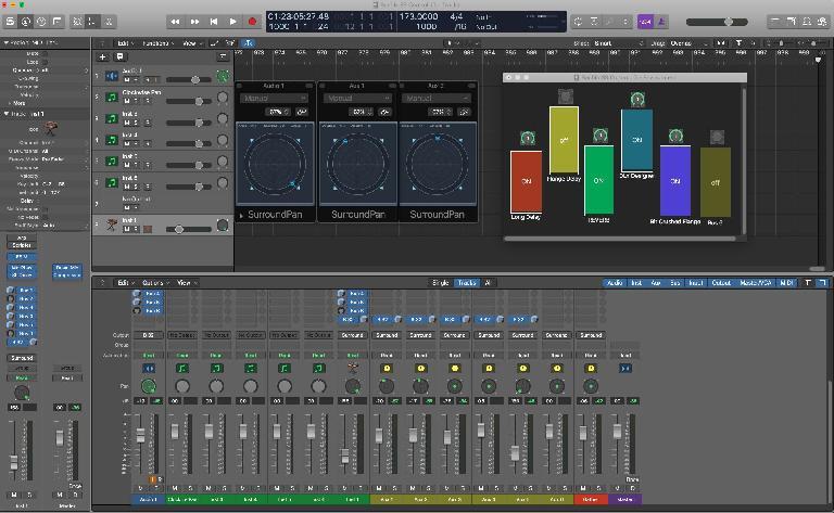 Logic Pro X Buchla Easel screenshot