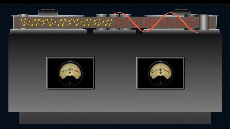 The mechanics of analog tape recording