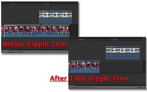 A Gap Clip is added to the end of the primary storyline if the last clip is truncated too much.