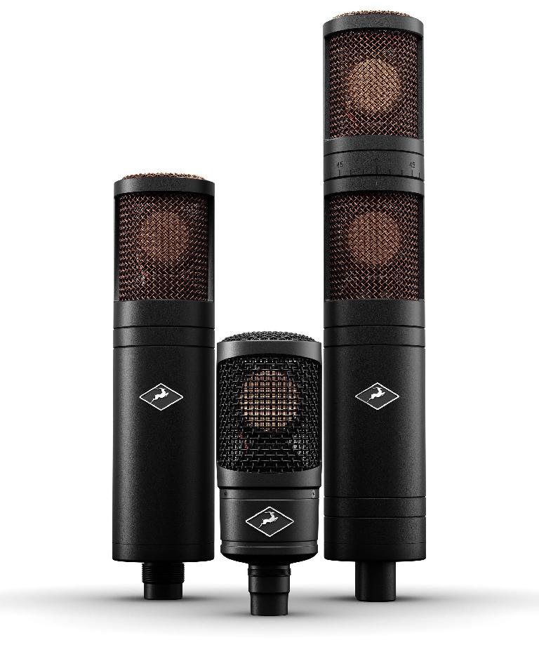 Antelope Audio new Edge modeling microphones.