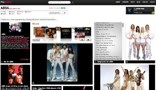 Creating an ABBA page.
