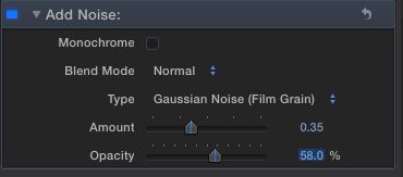 FCP other settings