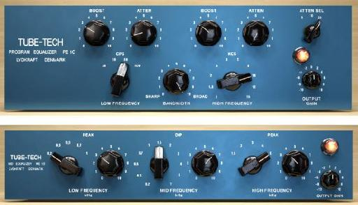 Tube-Tech EQ plug-ins collection by Softube