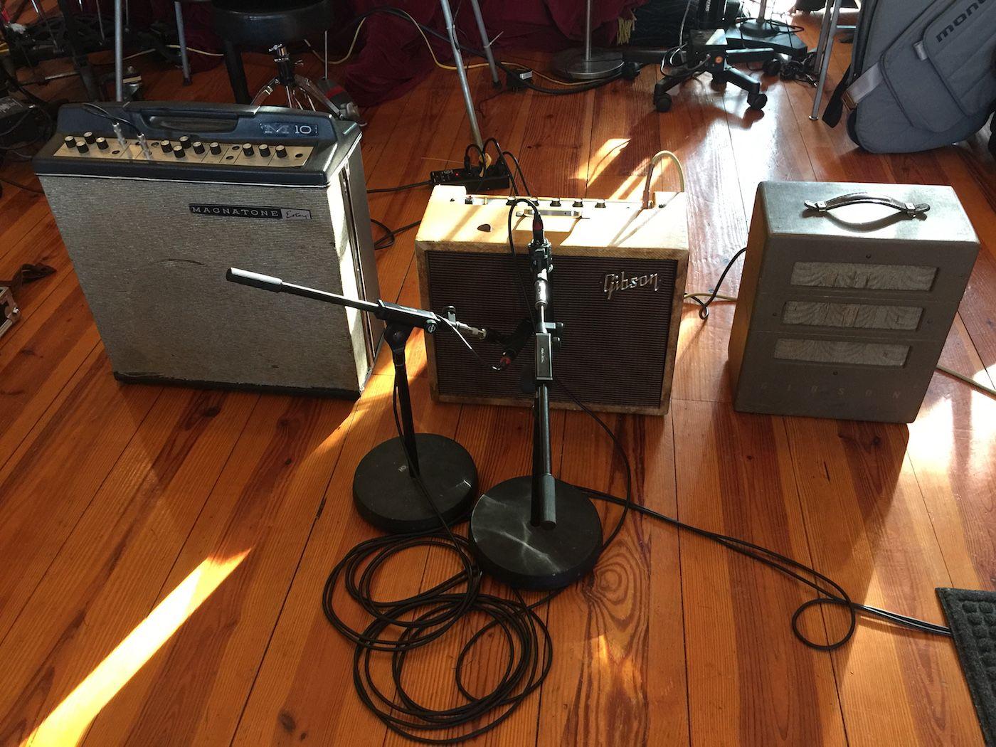 1966 Magnatone amps