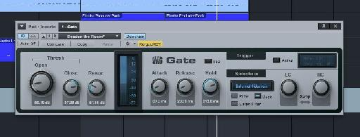 The gated sidechain effect is also very popular.