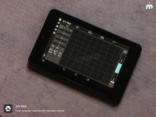LK - Live Control's XY Pad on a 7