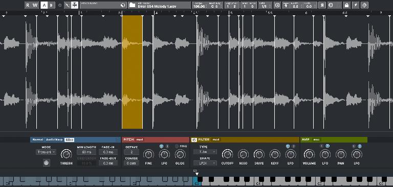 sampler track