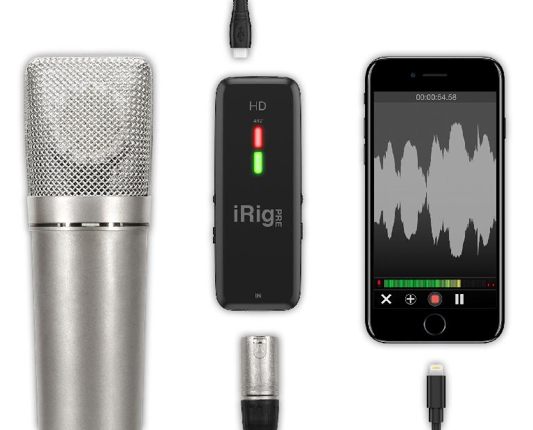 iRig Pre HD with iPhone 7