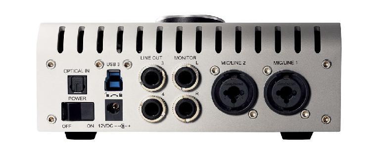The UA Apollo Twin USB (Back).