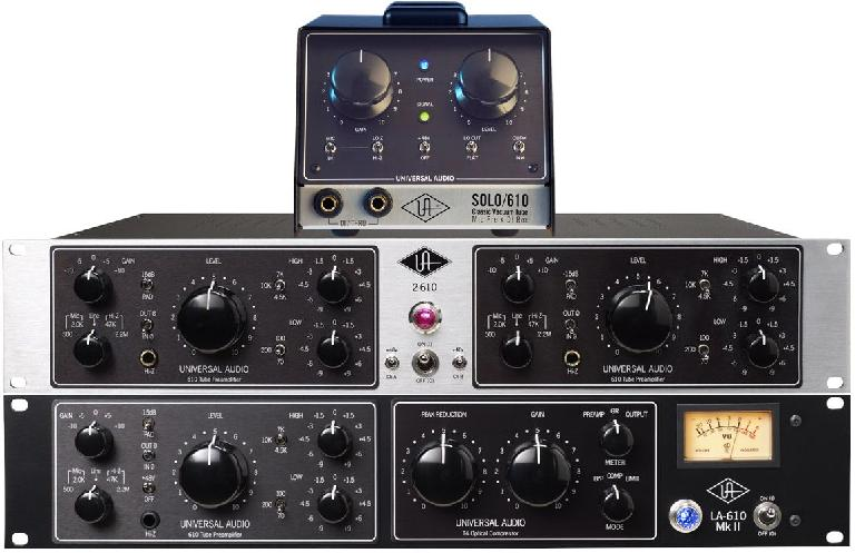 Fig 1B Several (current) versions of the 610 preamp