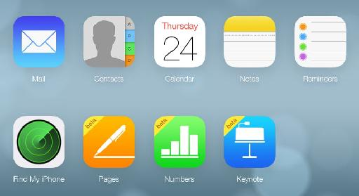 This is icloud.com right now '