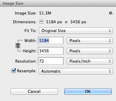 5184 x 3456 = 17915904 pixels.