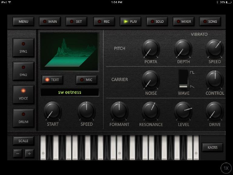 Korg iDS-10 is essentially 2 MS-20-style synths in one app.