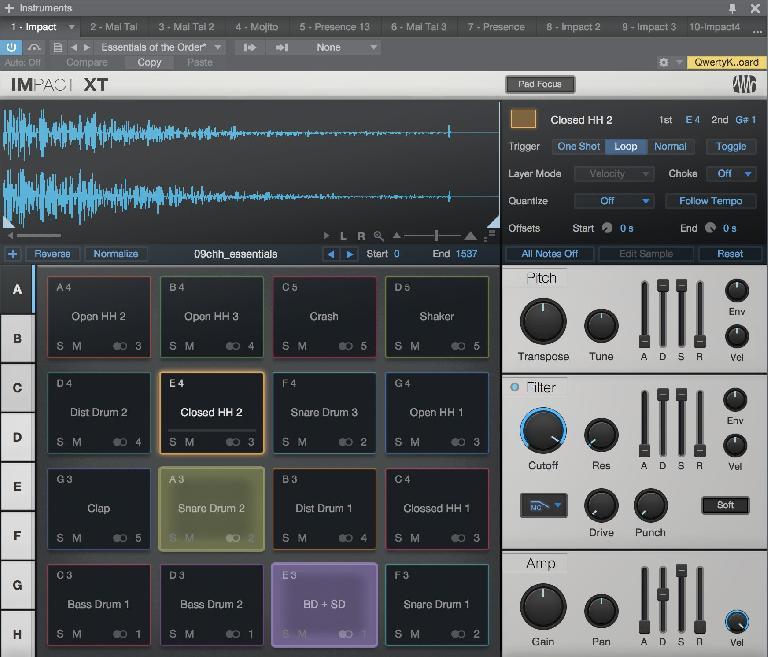 Studio One v4: Impact XT