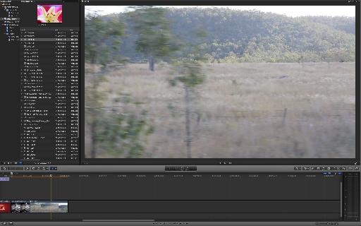 And that's the same video as before, still at 100%, but with a tiny interface around it.