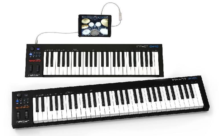 Nektar Impact MIDI controllers