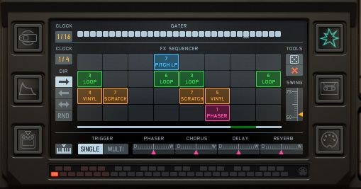 Pic 3 Sequencer Window.
