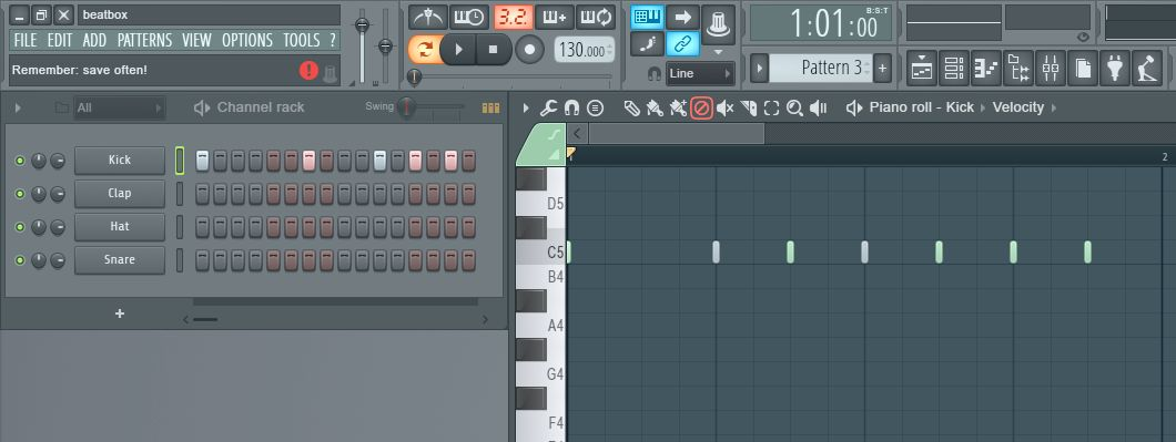 Fl Studio 12 Making The Step Sequencer And Piano Roll Work Together Ask Audio