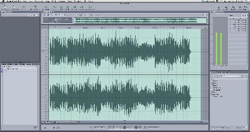 The pre-master in Soundtrack Pro