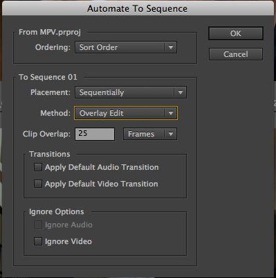 Automate settings