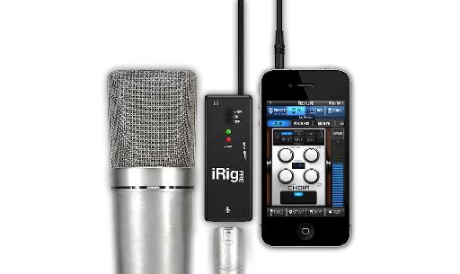 iRig PRE is easy as pie to connect to your favorite iOS device.