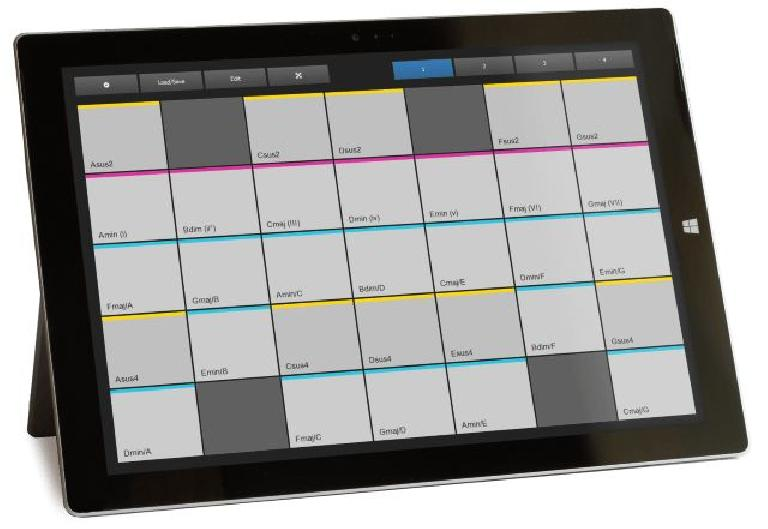 XotoPad 2.0 - MIDI Controller for Windows Touch Devices
