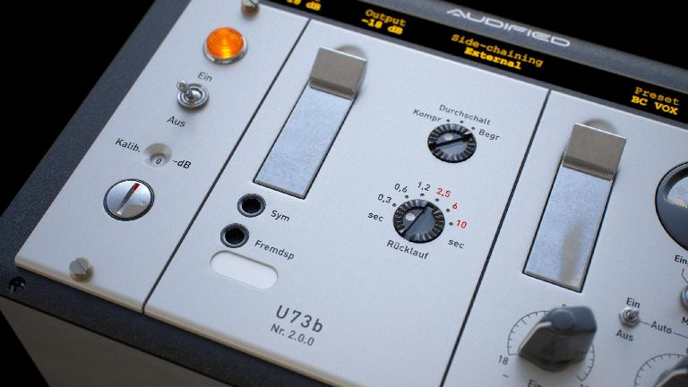 Audified U73b have a brand new interface and more controls.