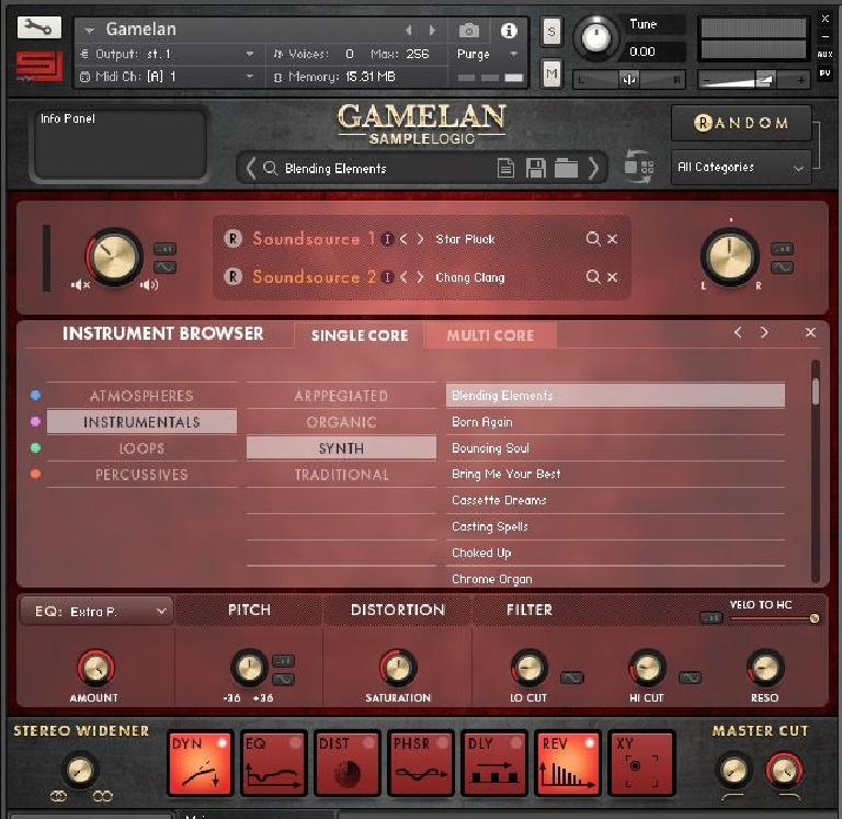 Gamelan lets you combine up to 8 soundsources.