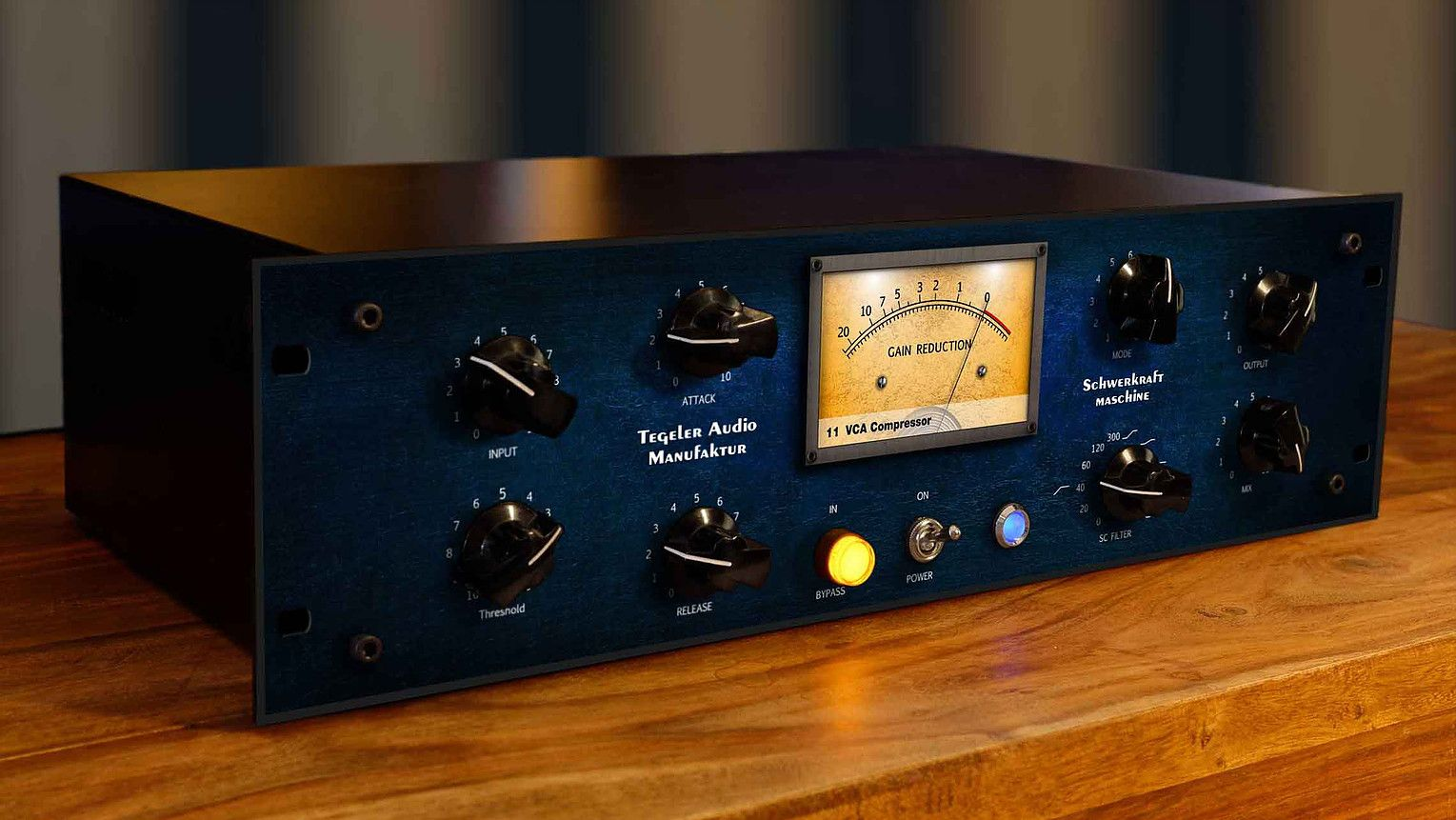 Tegeler Audio Schwerkraftmaschine stereo compressor.