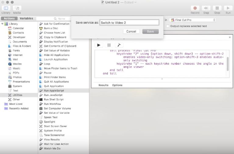 This YouTube video gets a little more in-depth if you want to run a sequence of commands