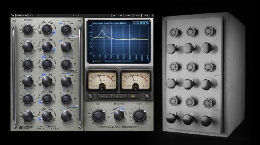(L) The RS56 plug-in; (R) the original RS56 (passive) EQ.