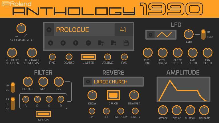 Roland Cloud 4.2: Anthology 1990