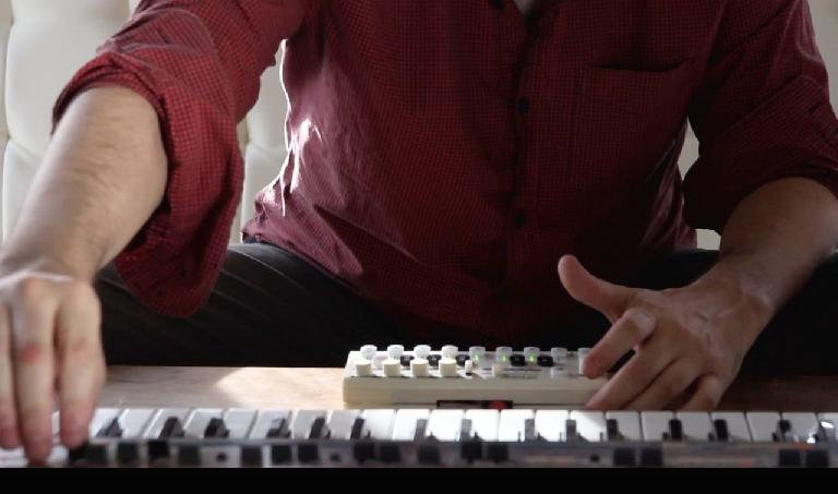 Arpeggio in action with a Juno-106