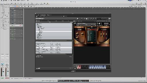 Adagio's simple interface.