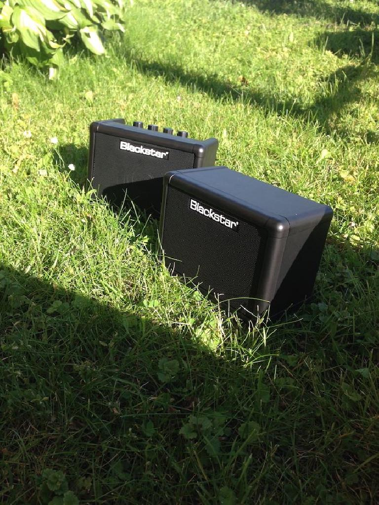 The Blackstar FLY 3 Watt Mini Amp is perfect for jamming in your backyard.
