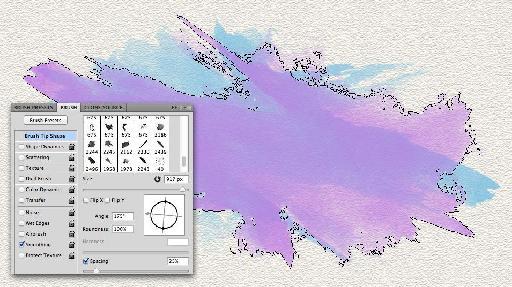 a iight purple