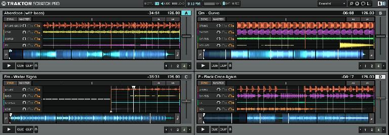 Traktor Main Screen