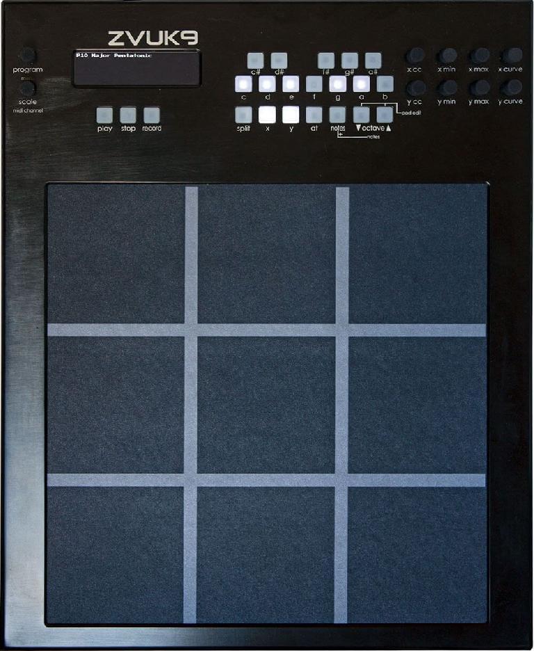 Zvuk9 MIDI controller