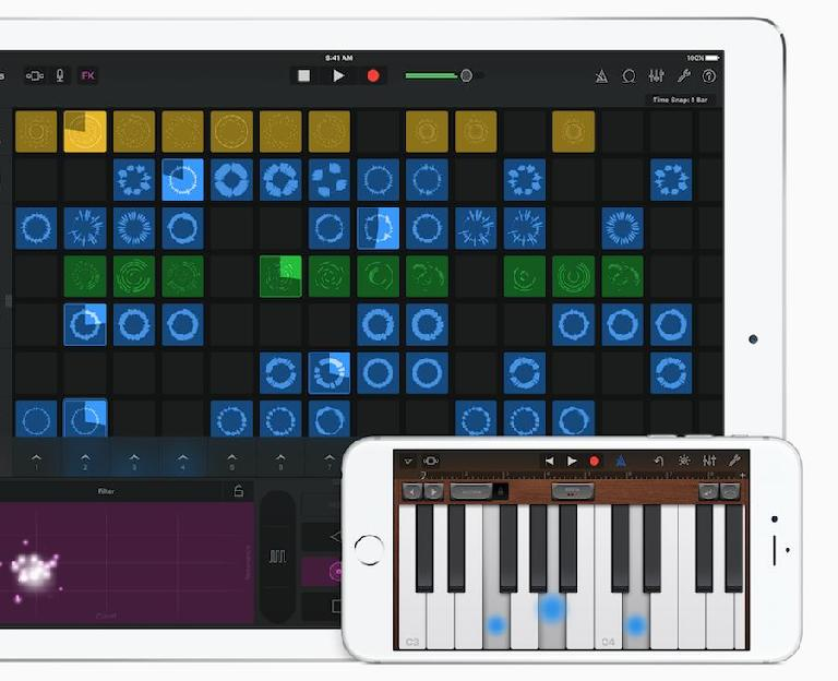 3D touch on GarageBand for iOS