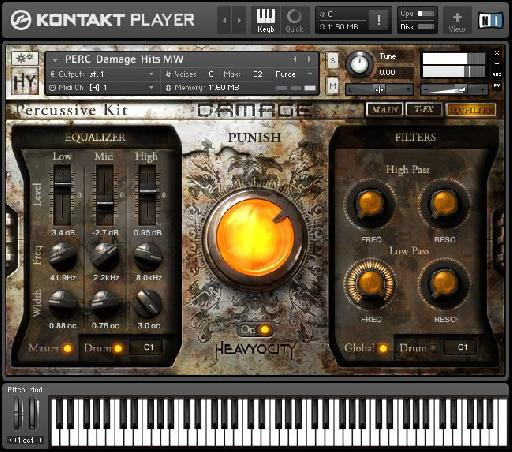 Want 30GB of hard-hitting cinematic percussion? Check out Damage!
