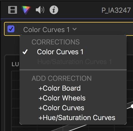 With the color pane active, you can add as many effects as you want from this menu